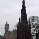 The Scott Monument by Tom Gomez