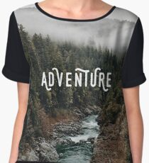 River in the Forest - Adventure Chiffon Top