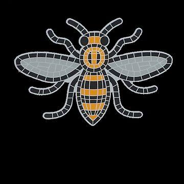 Manchester bee by inkquioart