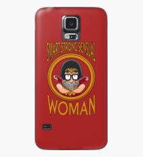 Smart Strong Sinnlichen Frau Hülle & Skin für Samsung Galaxy