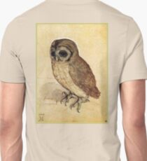 OWL, The Little Owl, DURER, ALBRECHT DÜRER,  T-Shirt