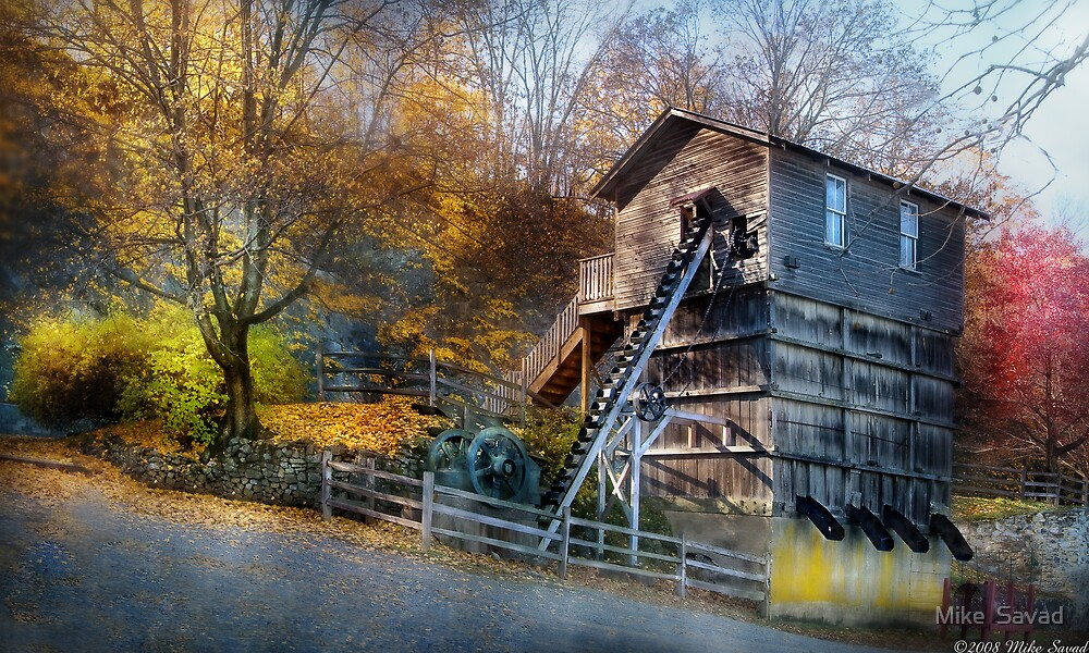 The Old Mill by Michael Savad