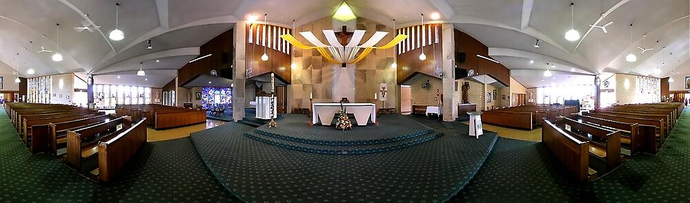 Little Flower church, Kedron, Brisbane by David James
