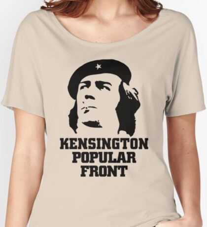 NDVH Kensington Popular Front Women's Relaxed Fit T-Shirt