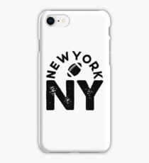 NEW YORK FOOTBALL NY iPhone Case/Skin