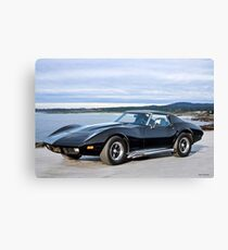 1972 Corvette 454 Stingray III Canvas Print