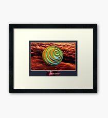 54.Planetary Framed Print
