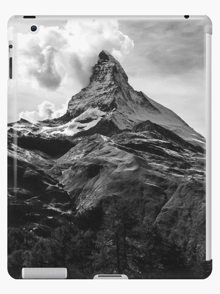 Black & White Mountains by PhotoStore