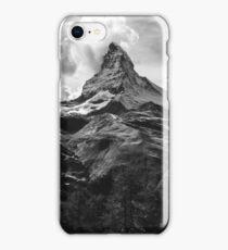 Black & White Mountains iPhone Case/Skin