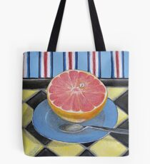 Pink Grapefruit Tote Bag