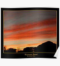 Kissimmee Sunset Poster