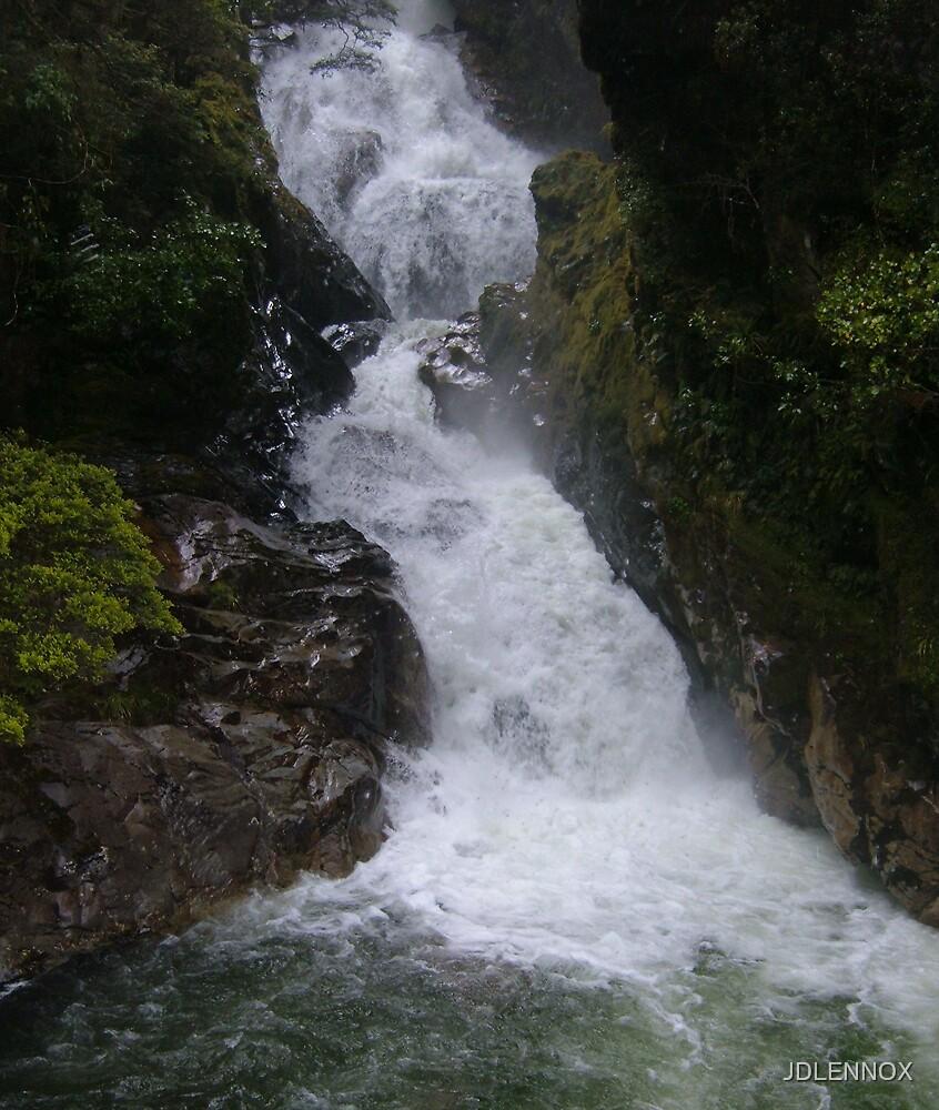 Water Fall by JDLENNOX