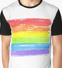 LGBT parade flag, gay pride symbol Graphic T-Shirt