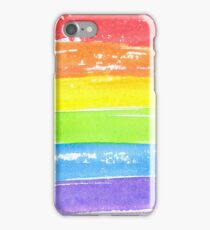 LGBT parade flag, gay pride symbol iPhone Case/Skin