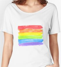 LGBT parade flag, gay pride symbol Women's Relaxed Fit T-Shirt