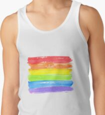 LGBT parade flag, gay pride symbol Men's Tank Top