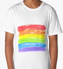 LGBT parade flag, gay pride symbol Long T-Shirt