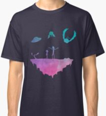 Rick and Morty silhouette Classic T-Shirt