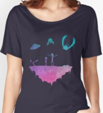 Rick and Morty silhouette Women's Relaxed Fit T-Shirt