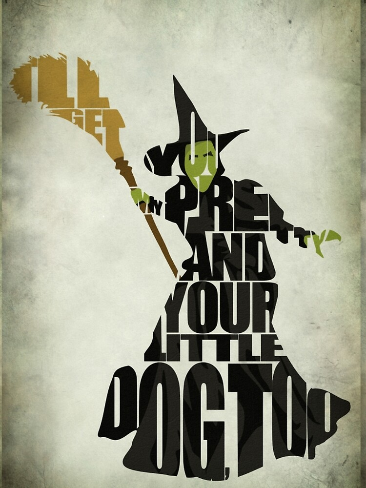 Wicked Witch Of The West by geekmywall