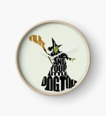 Wicked Witch Of The West Clock