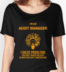 AUDIT MANAGER Women's Relaxed Fit T-Shirt