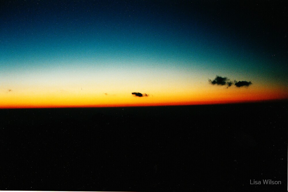 Dawn Breaking, Mt Sinai by Lisa Wilson