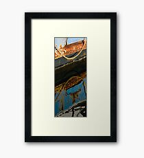 Maritime Tryptych #1 Framed Print