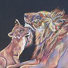 Ruhiger Moment (Pastell) von Linda Sparks