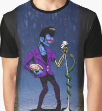 Psycho Zombie Elvis Graphic T-Shirt