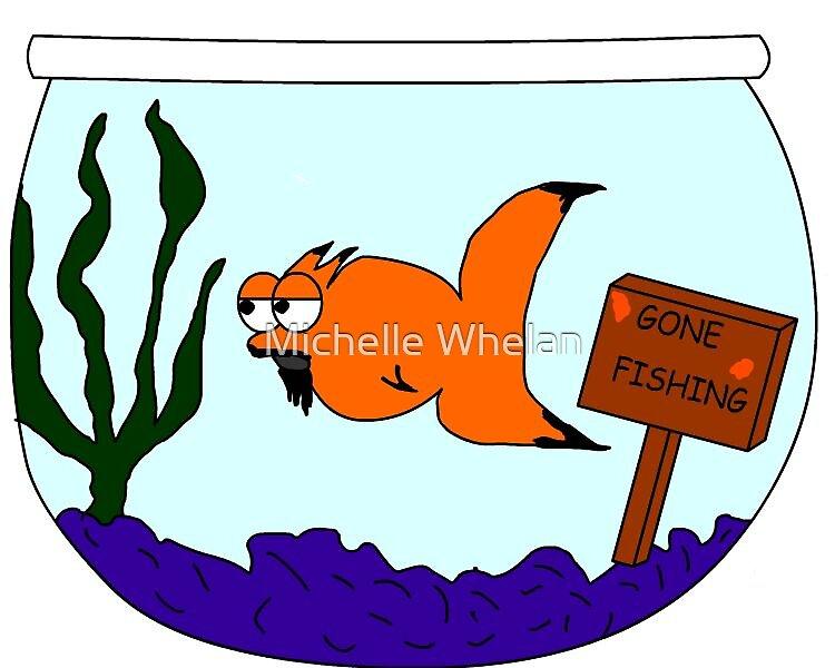 my fish gomez by Michelle Whelan
