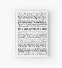 Quotes - Collection of Young Adult Book Quotes Hardcover Journal