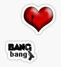 BANG bang! Sticker