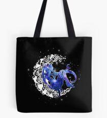 Mond-Rosen-Raum Tote Bag