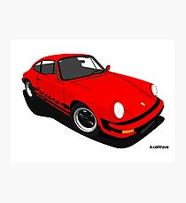 My own 911 in red Photographic Print