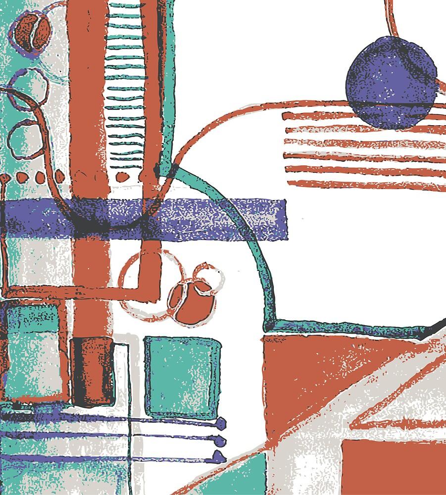 Abstract1 by Patsy Bush