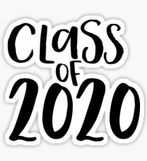 Class of 2020 Sticker