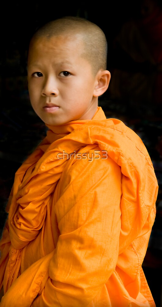 Young Monk by chrissy53
