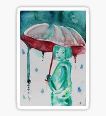 Droplet girl Sticker