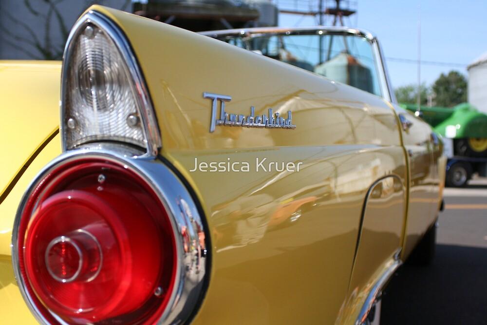 Yellow Thunderbird by Jessica Kruer