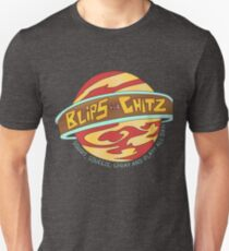 Blips and Chitz! - Ricky and Morty Arcade Logo T-Shirt