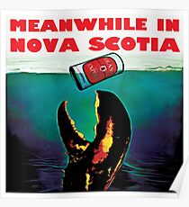 Meanwhile in Nova Scotia Poster