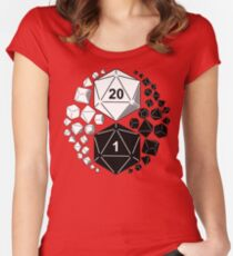 Roll D & D  Women's Fitted Scoop T-Shirt