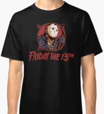 Jason Bloody Portrait ~ Friday the 13th Classic T-Shirt