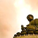 Buddha's Blessing by Keegan Wong