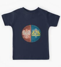 Poland Sweden - New Deluxe Vintage-look Design Kids Tee