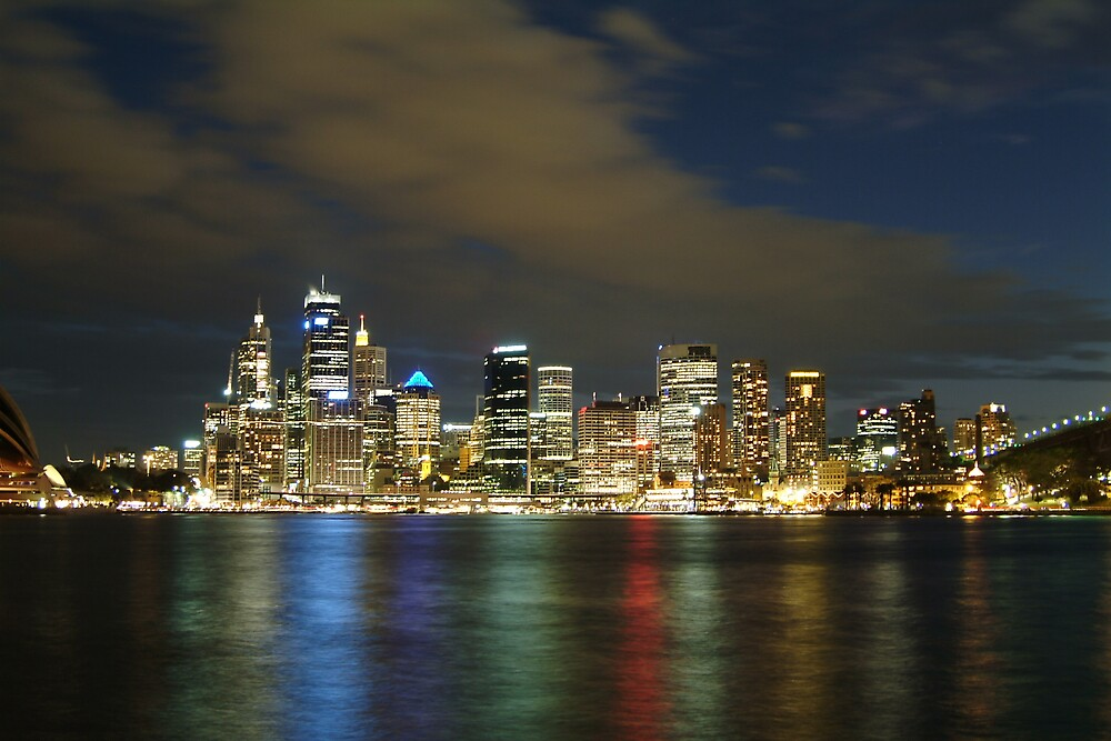 Sydney in lights by brad0928