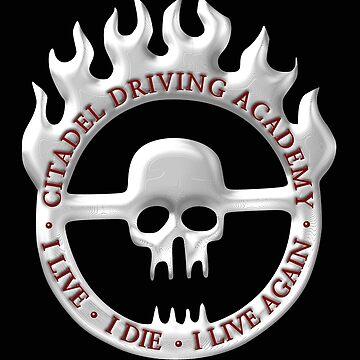 Citadel Driving Academy - White by BlueEyedDevil