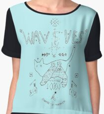 Wavves Women's Chiffon Top