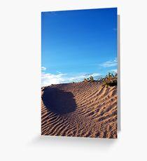 Sand Dune Greeting Card